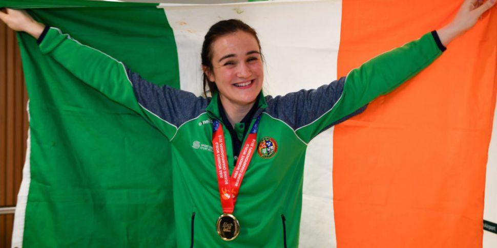 Harrington in Irish boxing squ...