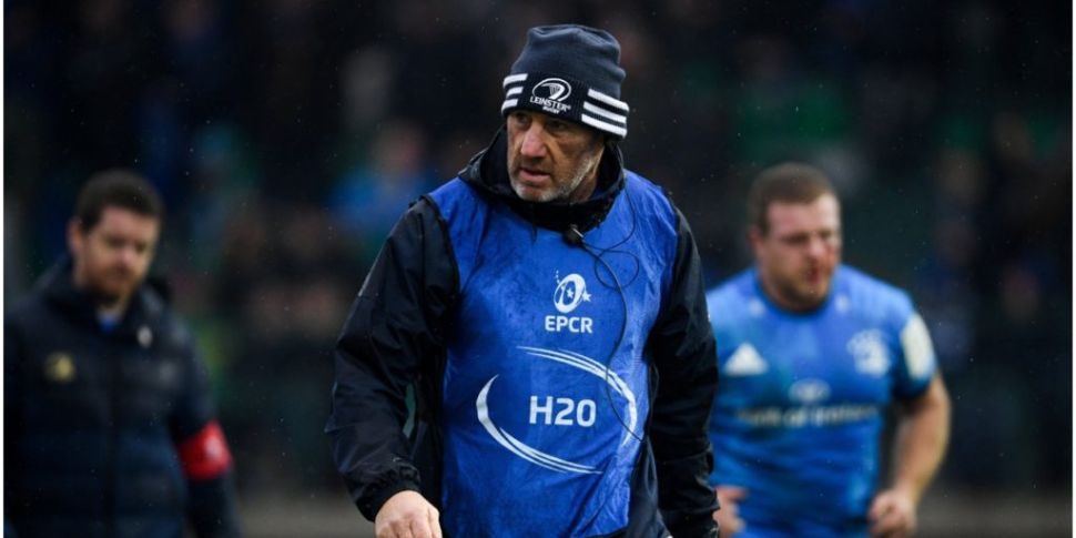 Robin McBryde   Leinster coach...