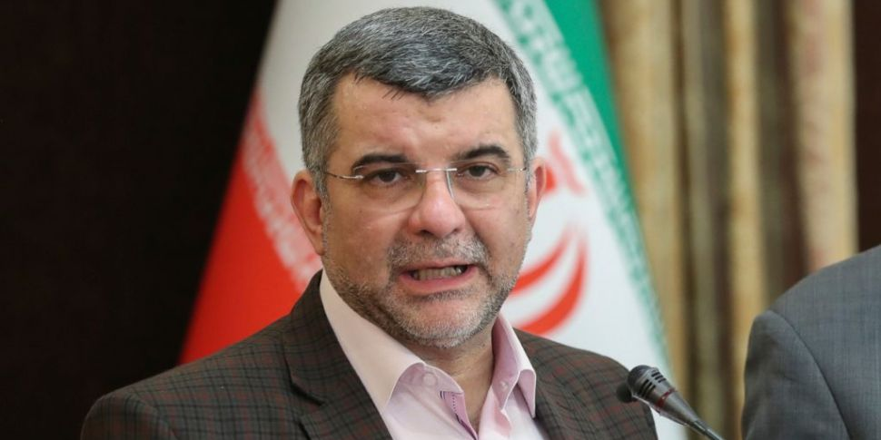 Iran's deputy health minister...