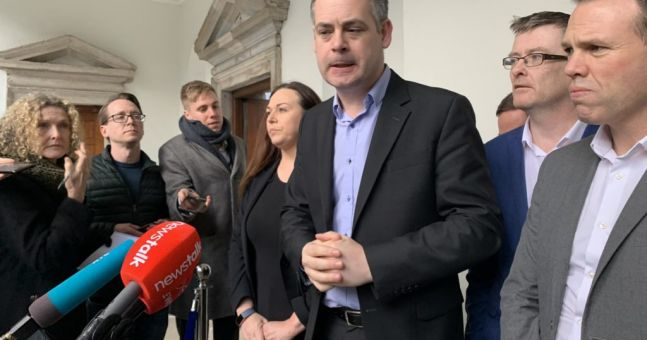 SF and Greens meet for over seven hours as government formation talks intensify | Newstalk