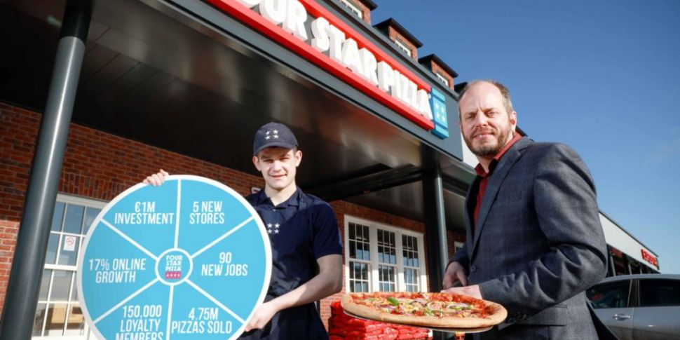 Four Star Pizza sees jump in o...