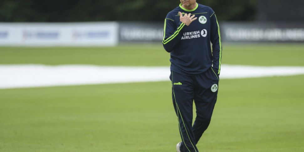 Ireland head coach Graham Ford...