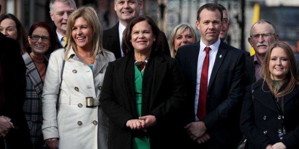 Sinn Féin support surges, as M...