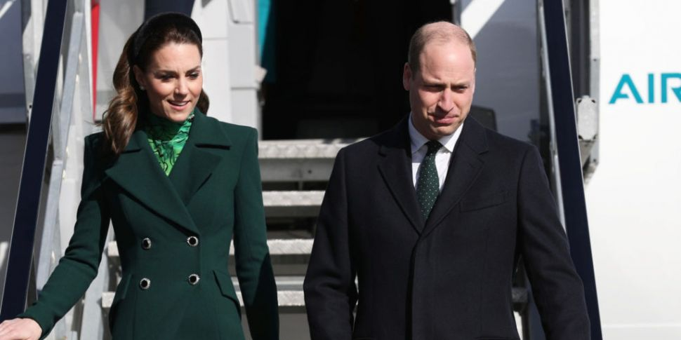 Britain's Prince William and K...