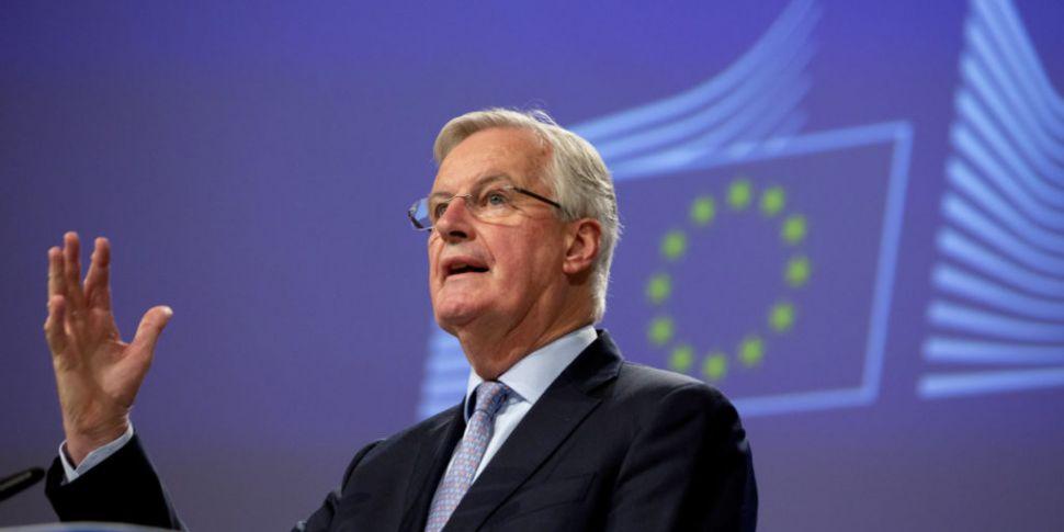 EU Brexit negotiator Michel Ba...
