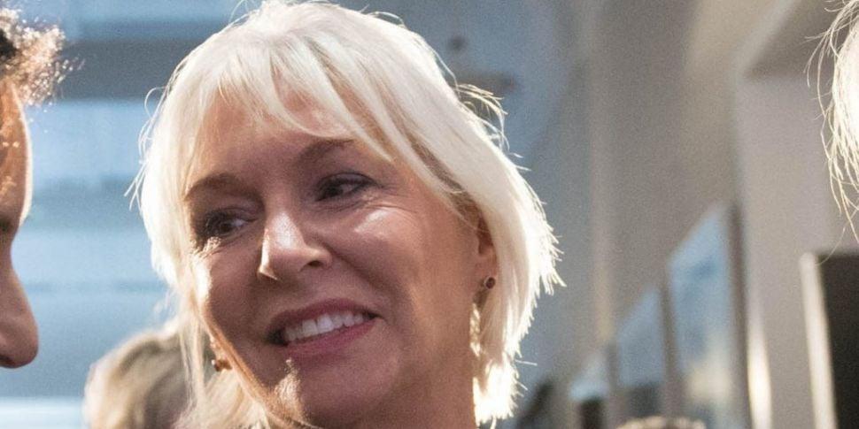 UK health minister Nadine Dorr...