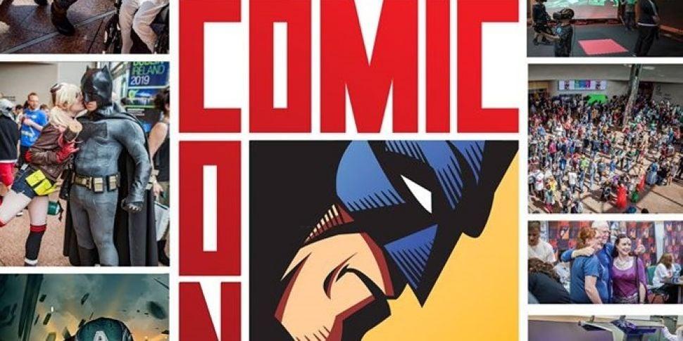 Dublin Comic Con among events...