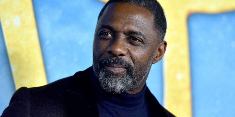 Idris Elba says he has tested...