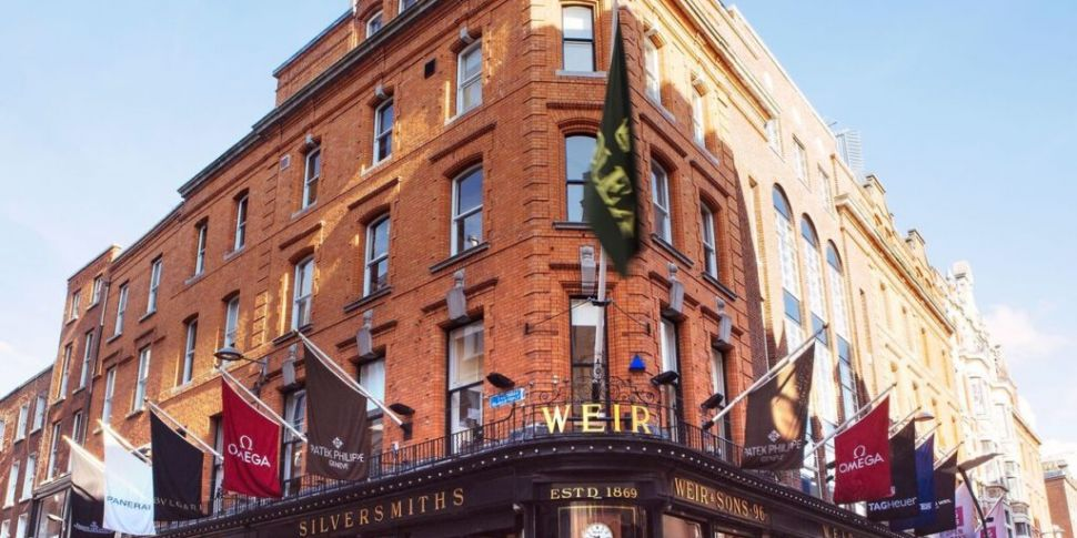 Dublin jewellers closes its do...