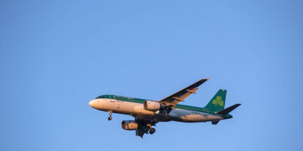 'Fáilte abhaile': Flight carry...