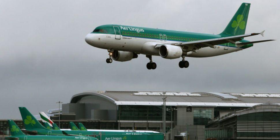 Aer Lingus plane hit by bird s...