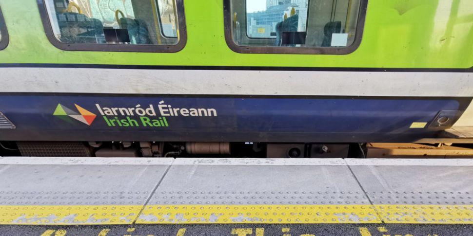 Irish Rail investigating leak...