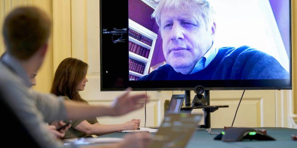 UK PM Boris Johnson 'breathing...