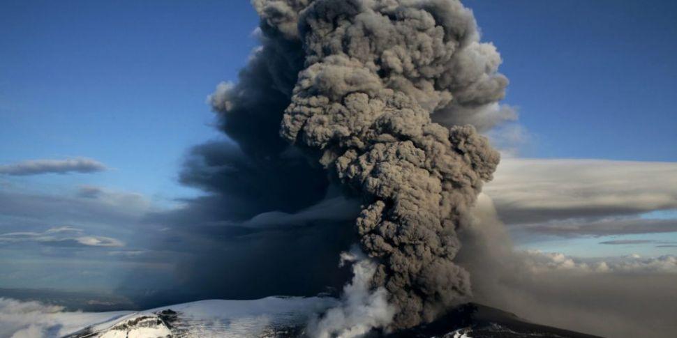 Iceland volcano anniversary