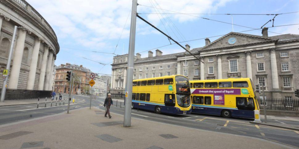 Dublin city centre social dist...