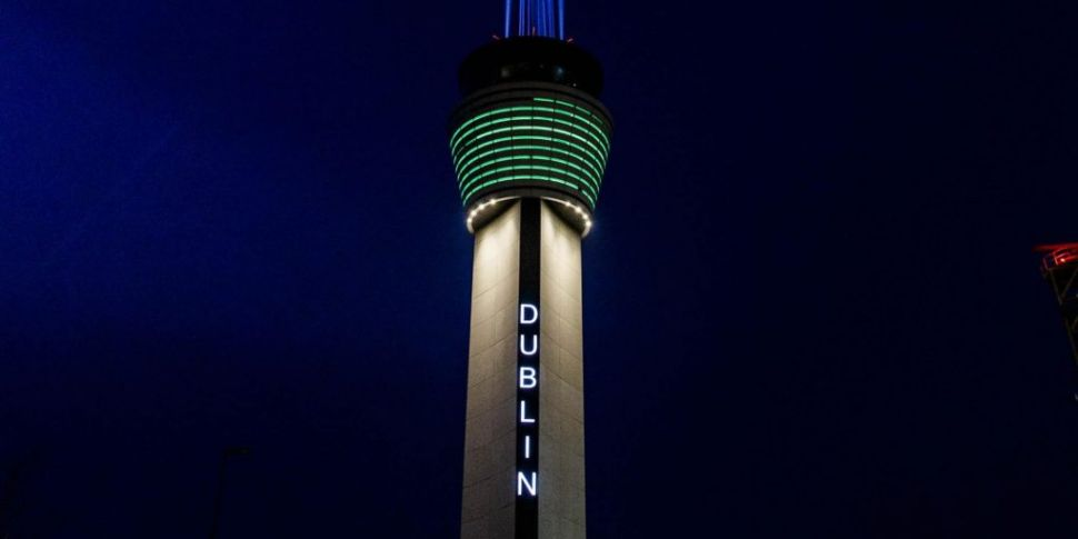 Irish air traffic collapses by...