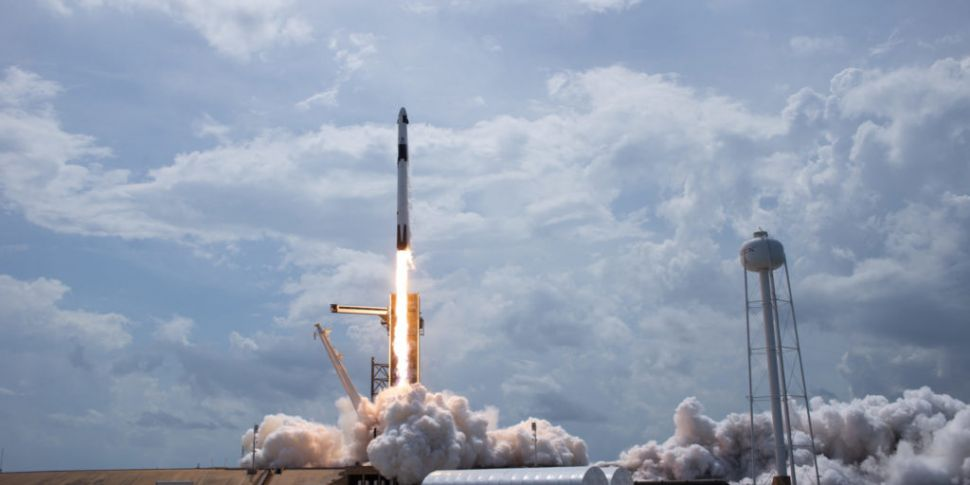 NASA / SpaceX mission: Astrona...