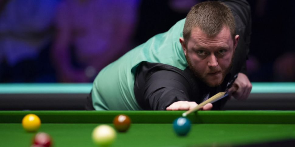 Mark Allen not looking forward...