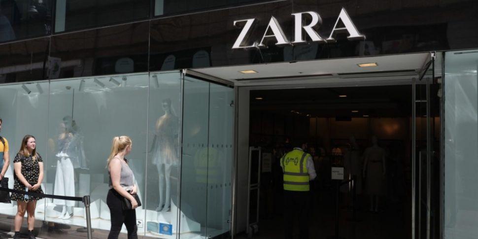 Zara owner set to close up to...
