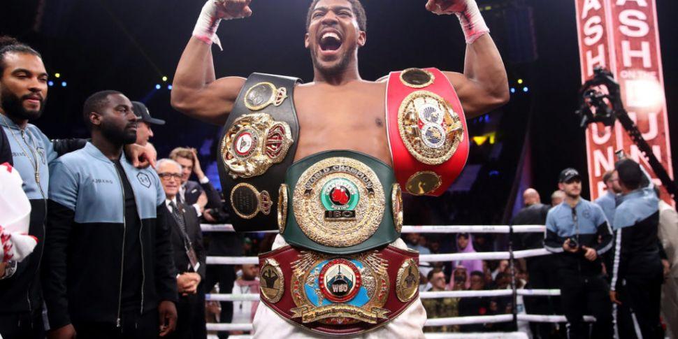 Joshua to defend heavyweight t...