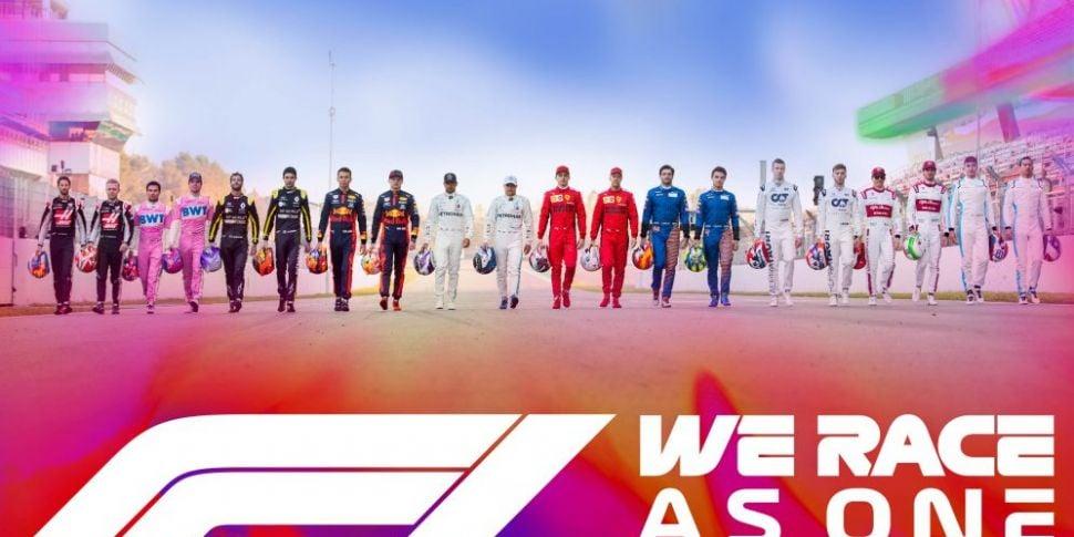 Formula One launch #WeRaceAsOn...