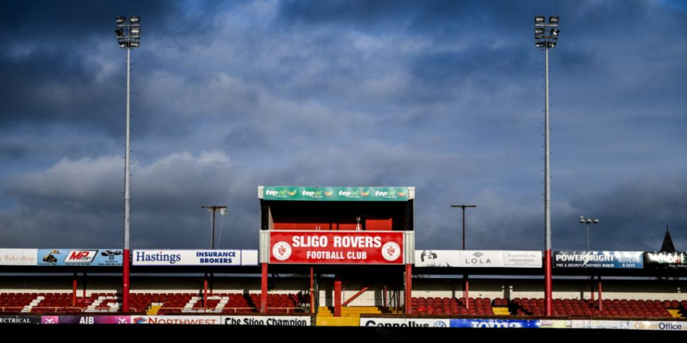 Sligo Rovers down two players...