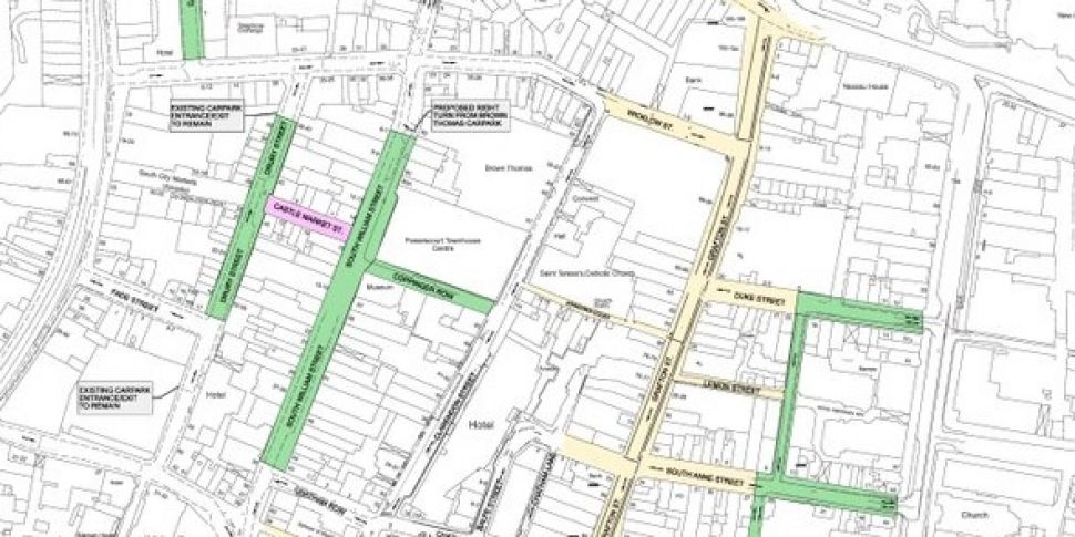 Call for Dublin pedestrianisat...