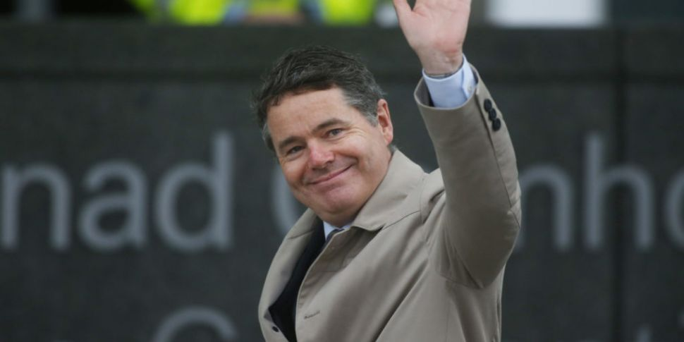 Paschal Donohoe elected as new...