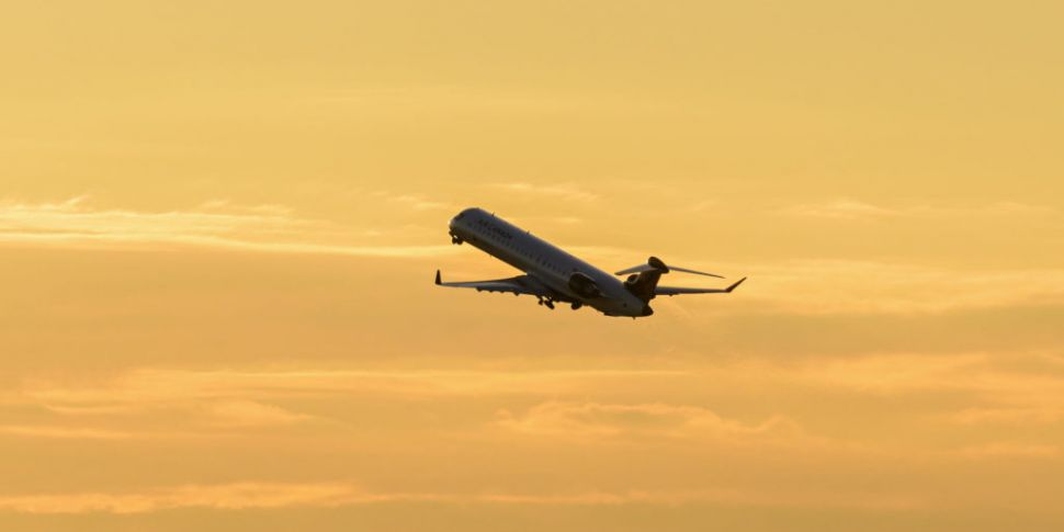 One flight arriving in Ireland...