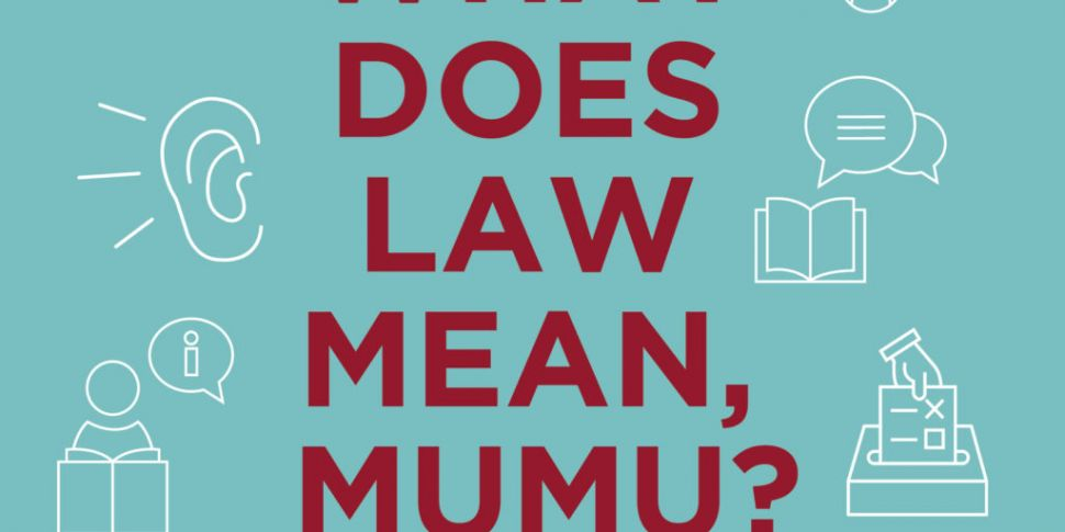 Book: What Does The Law Mean,...