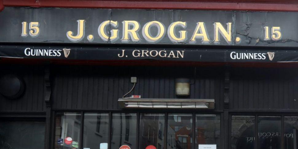 Grogans pub in Dublin postpone...