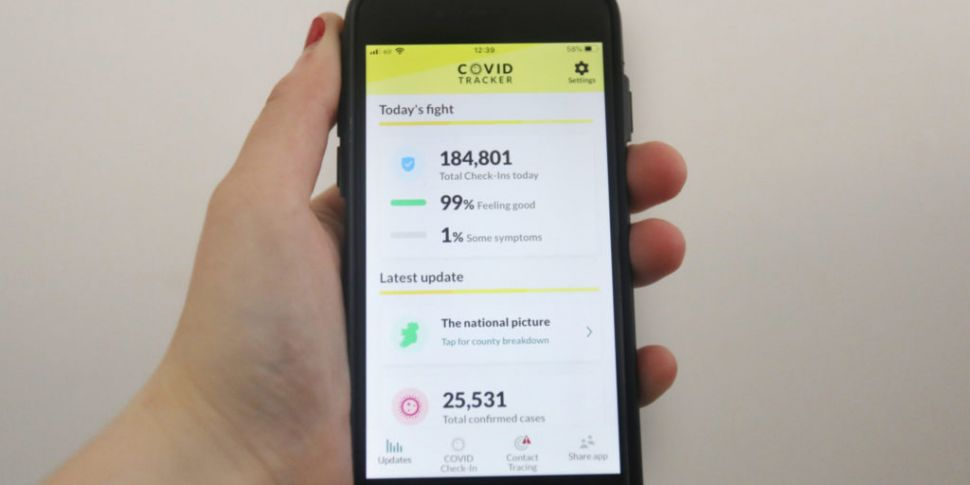 Tracker app: Over 100 people a...