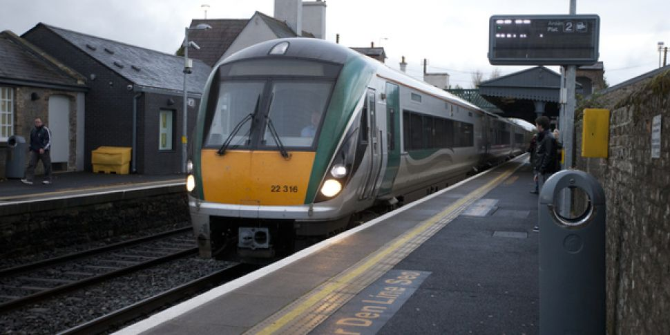 Train passengers 'packed' into...