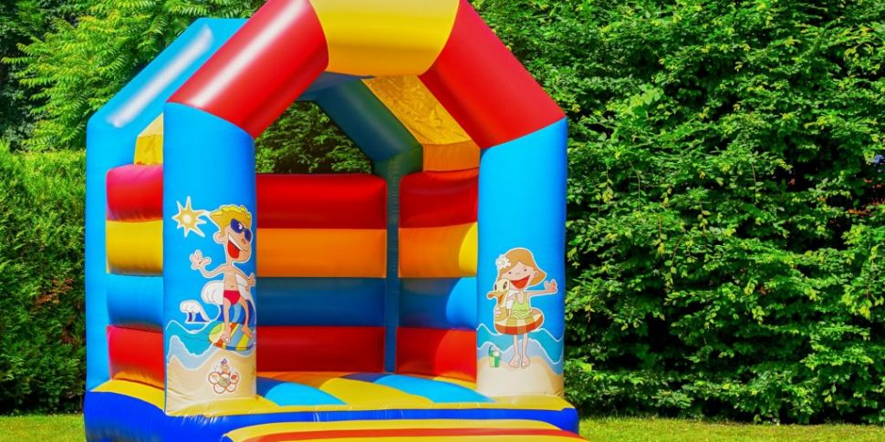 You can have a bouncy castle,...