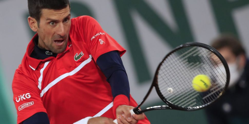 Novak Djokovic continues march...