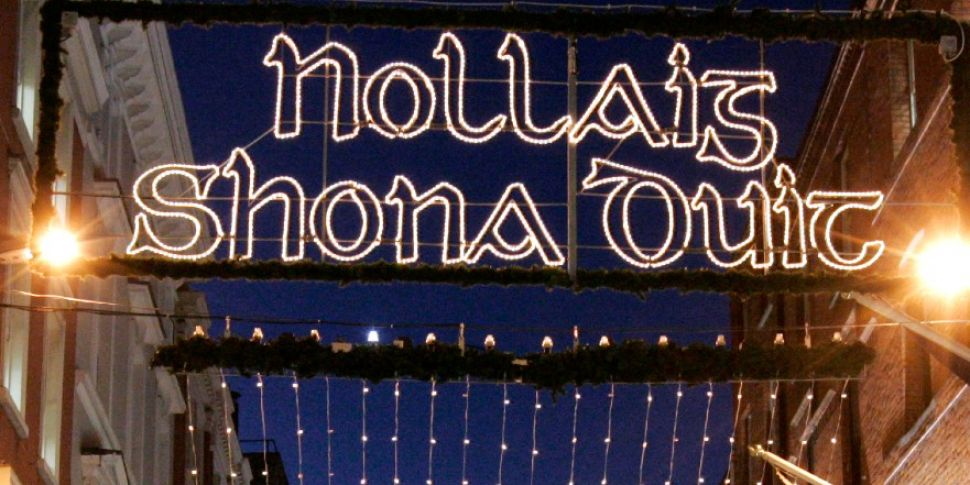 Nollaig Shona Duit Christmas Lights To Return To Grafton Street This Year Newstalk