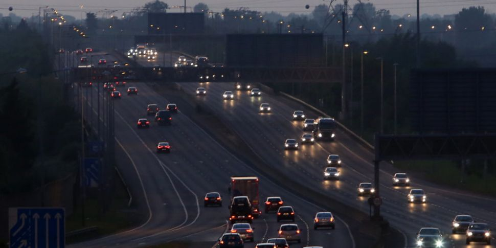 Variable speed limits on the M...