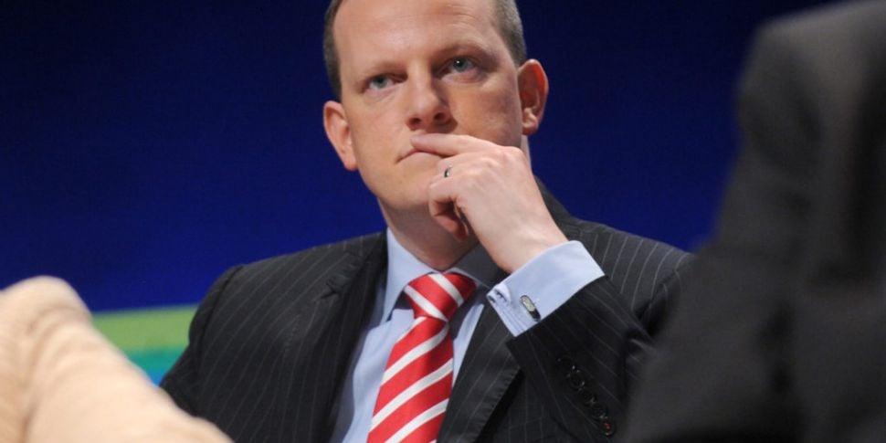 Fine Gael TD Alan Farrell crit...