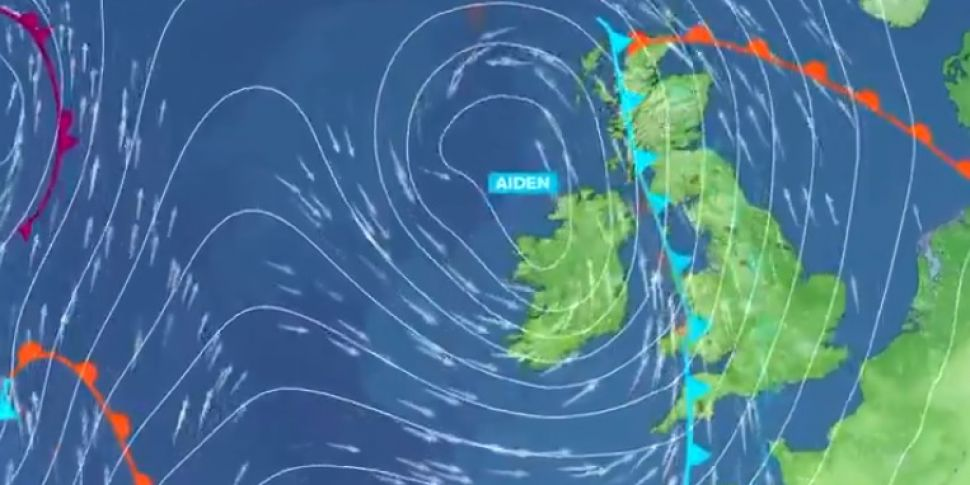 Storm Aiden: Weather warnings...