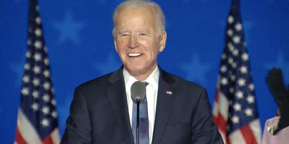 Joe Biden projected to become...