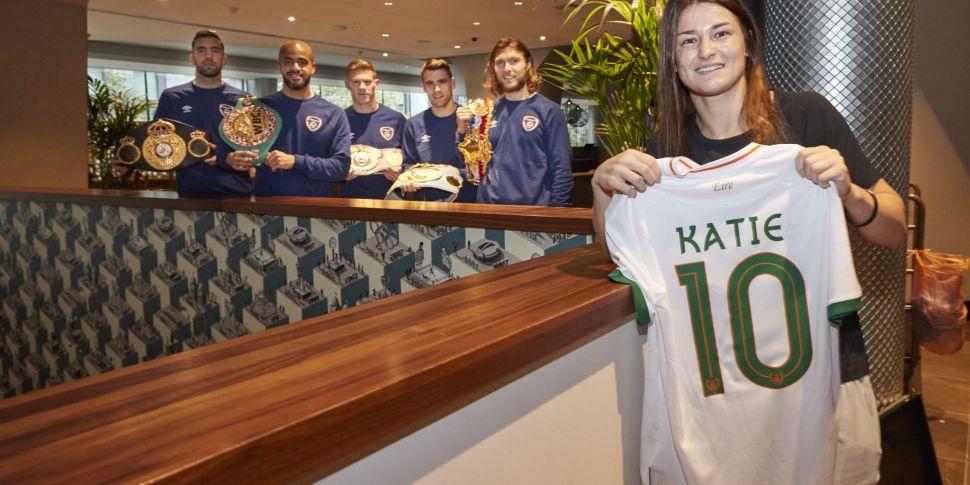 Ex-Ireland midfielder Katie Ta...