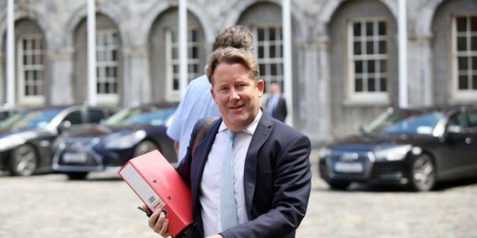 Minister Darragh O'Brien on ba...