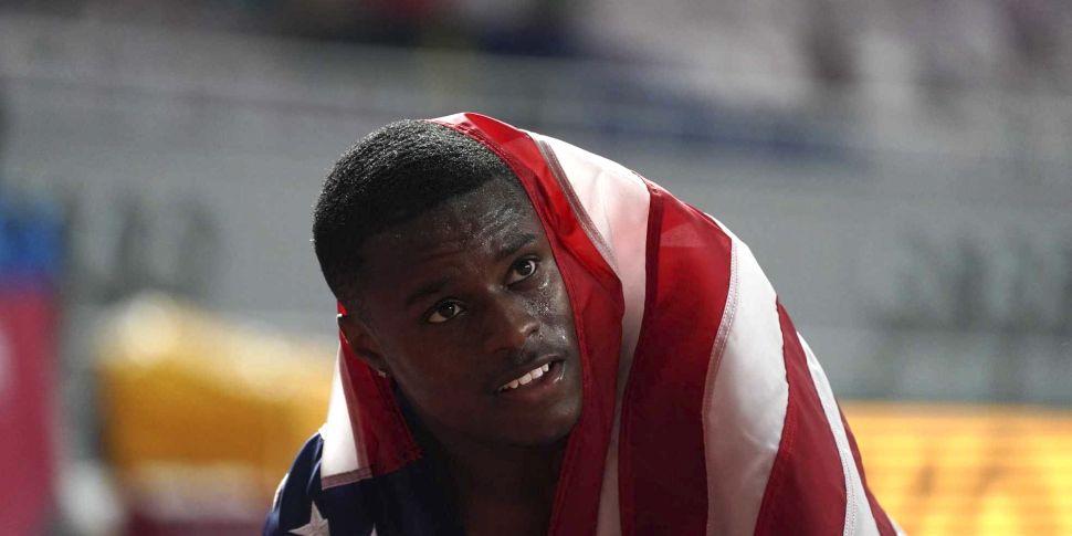 Sprint champion Christian Cole...