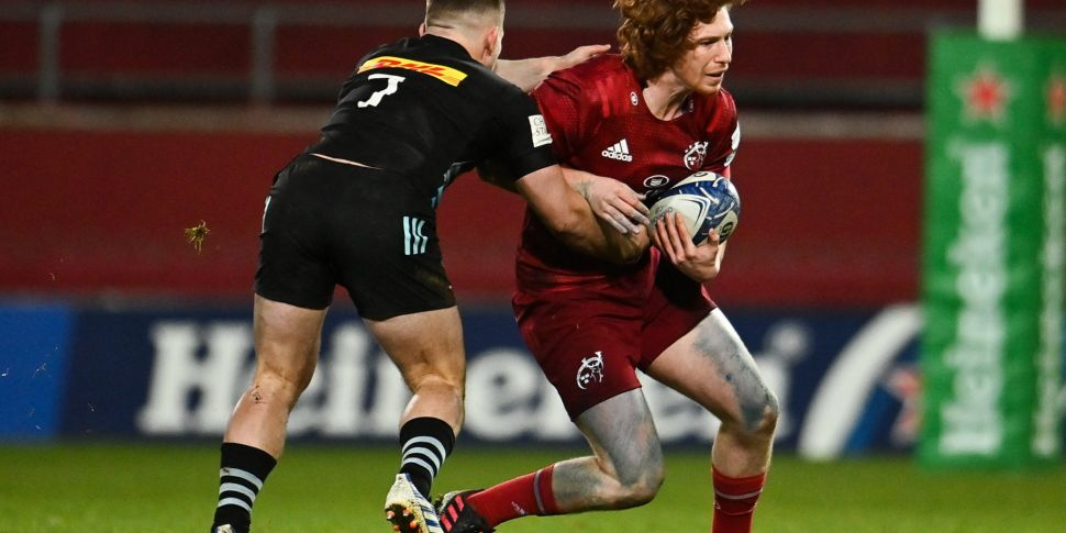 Healy ruled out of Munster's t...