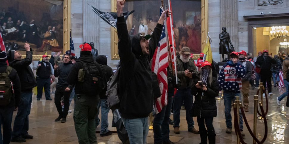 Capitol riots saw 'online disi...
