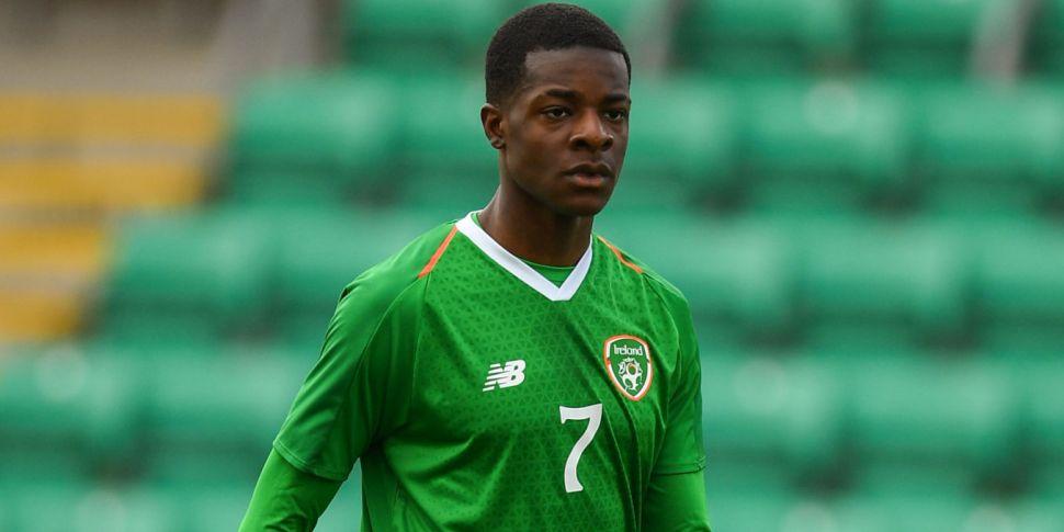 Irish youth Mipo Odubeko switc...