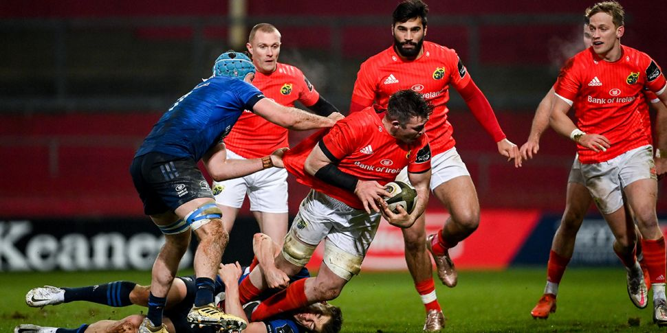 Leinster and Munster teams nam...