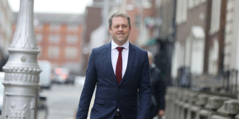 Thomas Byrne, Minister of Stat...
