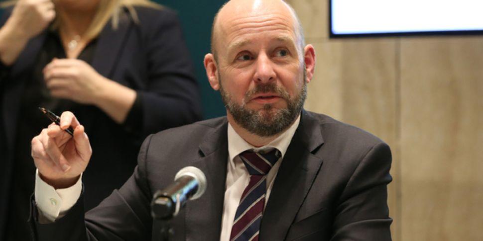 Philip Nolan, chair of the mat...