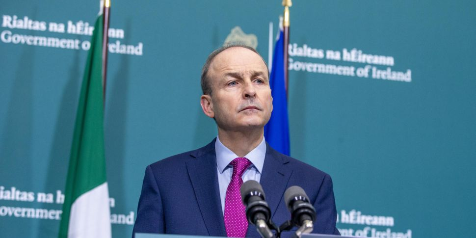 Taoiseach: Any re-opening will...